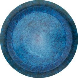 Melamine Mottled Seas Dinner Plate, 25cm