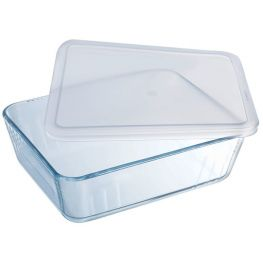 Cook & Freeze Rectangular Dish With Plastic Lid