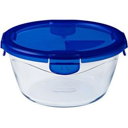 Cook & Go Round Glass Dish With Lock Lid