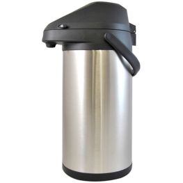 Stainless Steel Vacuum Pump Airpot, 4 Litre