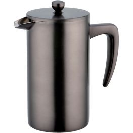 Sidamo 8 Cup Double Walled Stainless Steel Coffee Plunger, 1 Litre