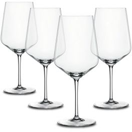 Style Red Wine Glasses, Set Of 4