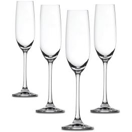 Salute Champagne Glasses, Set Of 4