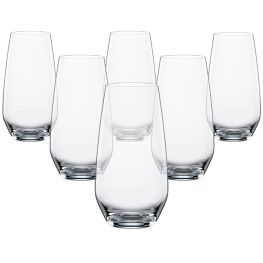 Authentis Casual Tall Glasses, Set Of 6