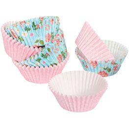 Disposable Grease Proof Baking Cups, Set Of 96