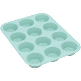 Silicone 12 Cup Muffin Pan
