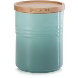 Medium Storage Jar With Wooden Lid, 540ml