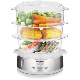 Estilor Vapor Digital 3 Tier Food Steamer