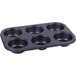 Non-Stick 6 Cup Giant Muffin Pan