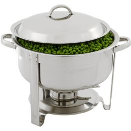 Global Round Chafing Dish, 3.7 Litre