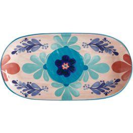 Majolica Oblong Platter, 33cm