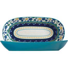 Rhapsody Oblong Bowl, 43cm