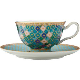 Teas & C's Kasbah Footed Cup & Saucer