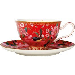 Teas & C's Silk Road Footed Cup & Saucer