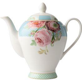 Italian Rose Teapot
