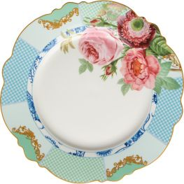 Italian Rose Charger Plate