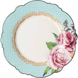 Wavy Rose Charger Plate