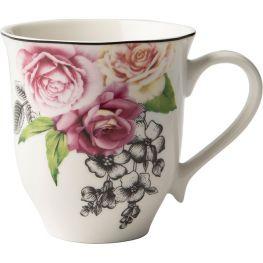 Wavy Rose Mug