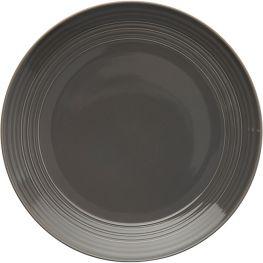 Embossed Lines Dinner Plate