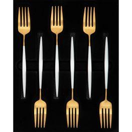 Satin Cake Forks, Set Of 6