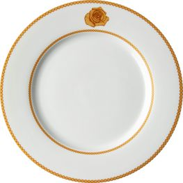 Mica Gold Dinner Plate, Set Of 4