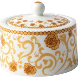 Mica Gold Sugar Bowl