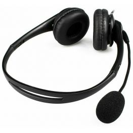 Dual Head Set With Microphone