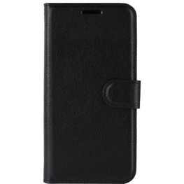 Essentials Leather Folio Case & Stand For The Samsung Galaxy S20 5G , Black