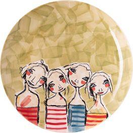 Dinner Plate, Treasure Friendships