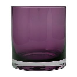 Coloured Glass Tumbler, Set Of 4