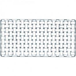 Bossa Nova Lead-Free Crystal Rectangular Platter, 28cm