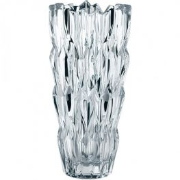 Quartz Lead-Free Crystal Vase, 26cm