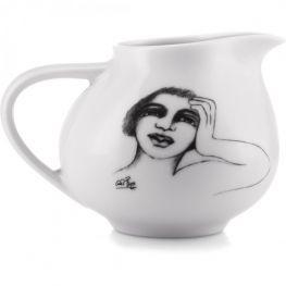 Ceramic Milk Jug/Creamer, Well Inclined