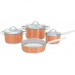 Asia Chef Stainless Steel Cookware Set, 7pc