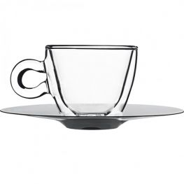 Thermic Espresso Cup & Saucer, Set of 2
