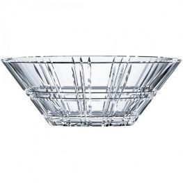 Square Lead-Free Crystal Bowl, 27cm