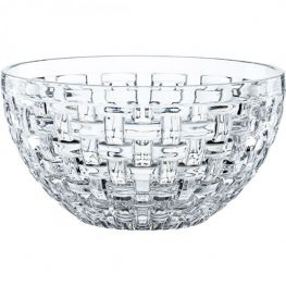 Bossa Nova Set Of 2 Lead-Free Crystal Bowls, 18cm