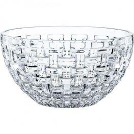 Bossa Nova Set Of 2 Lead-Free Crystal Bowls, 18cm