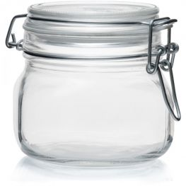 Store-It Jar With Clip-Top Lid, 500ml