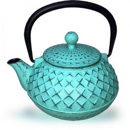 Cast Iron Tetsubin Teapot, Turquoise, 500ml
