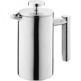 Columbia 3 Cup Double Walled Stainless Steel Coffee Plunger