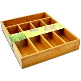 Bamboo Expanding Cutlery Tray
