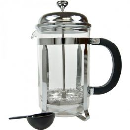 Chrome & Pyrex Coffee Plunger