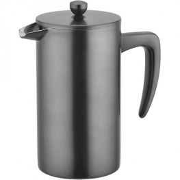 Sidamo 3 Cup Double Walled Stainless Steel Coffee Plunger, 350ml