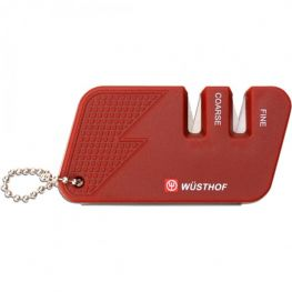 Compact Knife Sharpener, Red