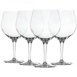 Crystal Gin & Tonic Glasses, Set Of 4