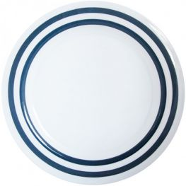 Melamine Dinner Plate, Nautical, 25cm