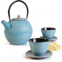 Oriental Cast Iron Tetsubin Infuser Teapot Set, Soho, 1.2 Litre