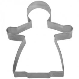 Cookie Cutter, Gingerbread Woman, 13cm