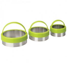 Round Cookie Cutters, 3pc